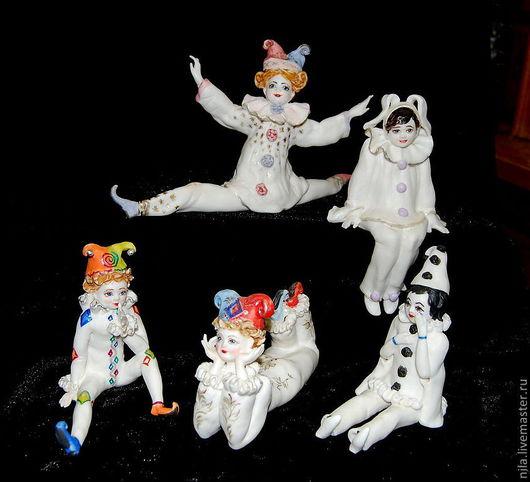 Статуэтки ручной работы. Ярмарка Мастеров - ручная работа. Купить Юные Таланты- артисты, циркачи и музыканты. Handmade. Авторский фарфор