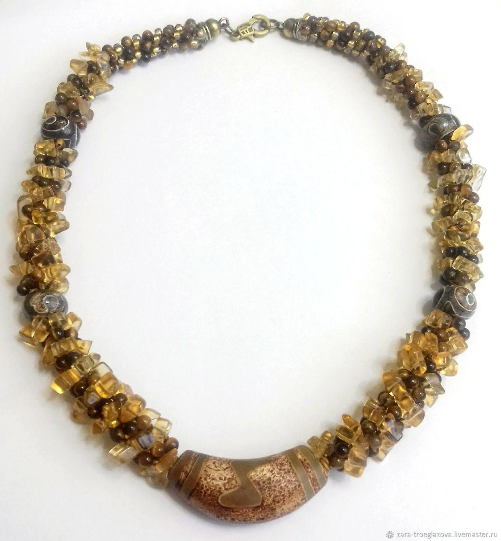 Necklace ' Pyaterochka JI', Necklace, Samara,  Фото №1