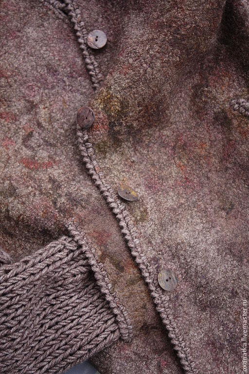 Felted jacket Shabby chic, Cardigans, Moscow,  Фото №1