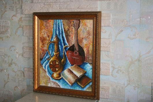 """Натюрморт ручной работы. Ярмарка Мастеров - ручная работа. Купить картина маслом """"Натюрморт"""". Handmade. Картина в подарок, картина на заказ"""