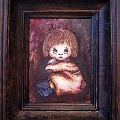 """Картины и панно ручной работы. Ярмарка Мастеров - ручная работа Картина """"Плакса"""". Handmade."""