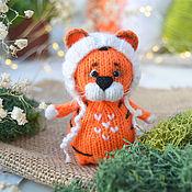 Куклы и игрушки handmade. Livemaster - original item Tiger cub is the symbol of the year. Handmade.