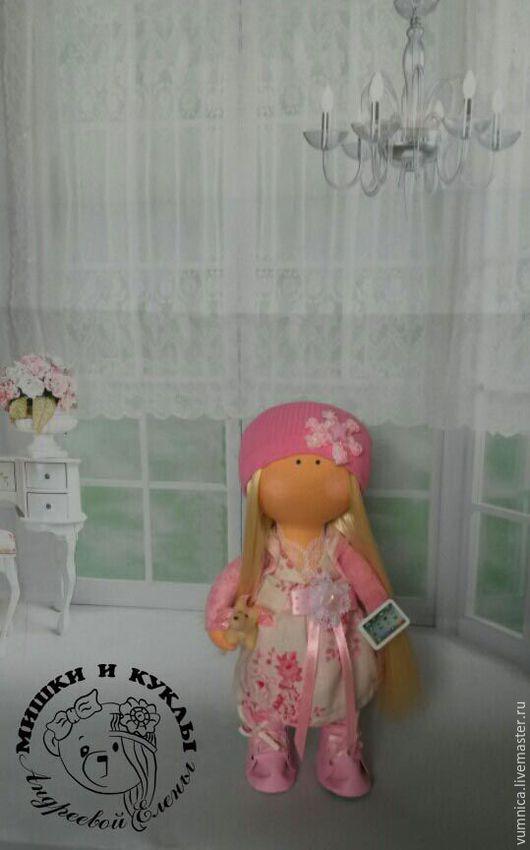 Куклы тыквоголовки ручной работы. Ярмарка Мастеров - ручная работа. Купить Интерьерная текстильная кукла Розалия. Handmade. Отличный подарок