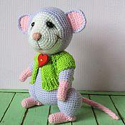 Куклы и игрушки ручной работы. Ярмарка Мастеров - ручная работа Мышонок Лукас. Handmade.