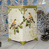 Для дома и интерьера handmade. Livemaster - original item candle holder. Candle holder box. Candle holder box.. Handmade.