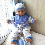 Работы для детей, handmade. Livemaster - original item Knitted set of clothes for the boy