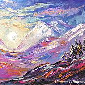 handmade. Livemaster - original item Mystical landscape oil painting