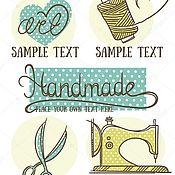 Дизайн ручной работы. Ярмарка Мастеров - ручная работа Авторские логотипы (разработка). Handmade.