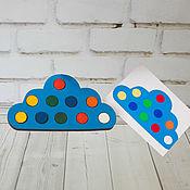 """Мягкие игрушки ручной работы. Ярмарка Мастеров - ручная работа Набор """"Облако"""". Handmade."""
