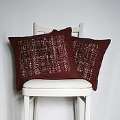 Для дома и интерьера ручной работы. Ярмарка Мастеров - ручная работа Комплект Бордо 3. Handmade.