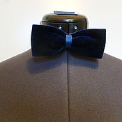 Аксессуары handmade. Livemaster - original item Butterfly Butterfly blue velvet. Handmade.