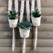 Цветы и флористика handmade. Livemaster - original item Flower pots