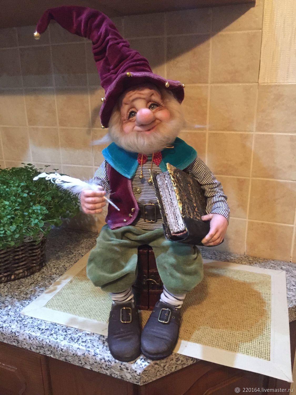 Dwarf writer of fables ( sold ), Dolls, Lyubertsy,  Фото №1