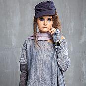 Одежда handmade. Livemaster - original item KN_003_seryj Blouson