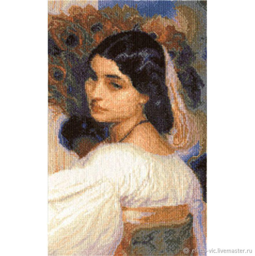 """Набор для вышивания Panna """"Девушка с веером"""", Схемы для вышивки, Смоленск,  Фото №1"""