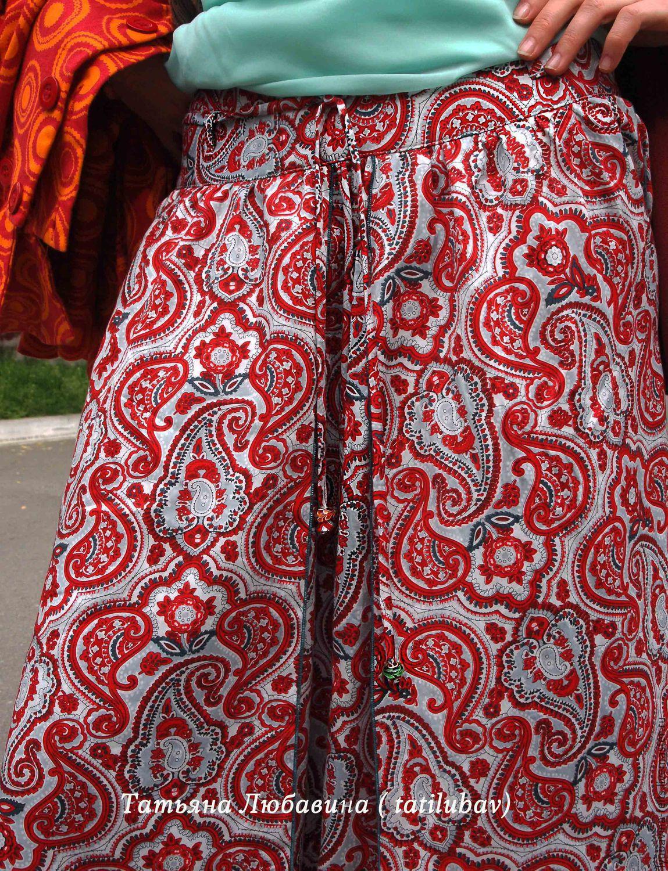 Ткань сатин юбка
