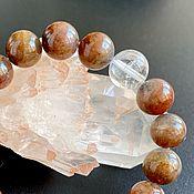 Фен-шуй и эзотерика handmade. Livemaster - original item Cosmos Bracelet: Canadian Auralit-23. Handmade.
