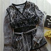 Одежда handmade. Livemaster - original item Vest warm one-sided