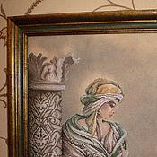 Картины и панно ручной работы. Ярмарка Мастеров - ручная работа мароканская женщина. Handmade.