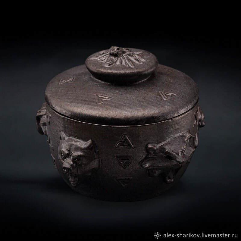 Сахарница Школы Ведьмака (Witcher 3: Wild Hunt) Ceramic, Сахарницы, Санкт-Петербург,  Фото №1