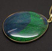 Украшения handmade. Livemaster - original item Pendant with matrix opal