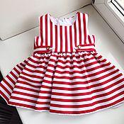 Работы для детей, ручной работы. Ярмарка Мастеров - ручная работа Марсель детское платье. Handmade.
