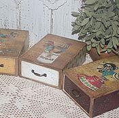 Для дома и интерьера ручной работы. Ярмарка Мастеров - ручная работа Коробочки для хранения всякого.... Handmade.