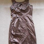 Винтаж handmade. Livemaster - original item Fancy dress,KAREN MILLEN,silk,vintage from Europe,size 38-40. Handmade.