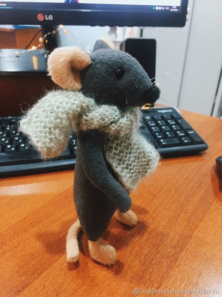 Крыска, Мягкие игрушки, Майкоп,  Фото №1