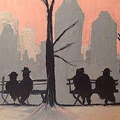 Картины и панно ручной работы. Ярмарка Мастеров - ручная работа В ожидании апокалипсиса. Handmade.
