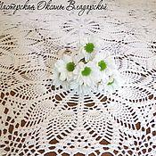 Для дома и интерьера handmade. Livemaster - original item knitted tablecloth