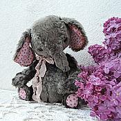 Куклы и игрушки ручной работы. Ярмарка Мастеров - ручная работа Слоняша. Тедди.. Handmade.