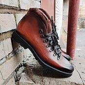 Ботинки ручной работы. Ярмарка Мастеров - ручная работа Хайкеры из натуральной кожи. Handmade.