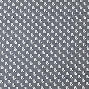 Материалы для творчества ручной работы. Ярмарка Мастеров - ручная работа Ткань Хлопок Утки на сером Европа. Handmade.