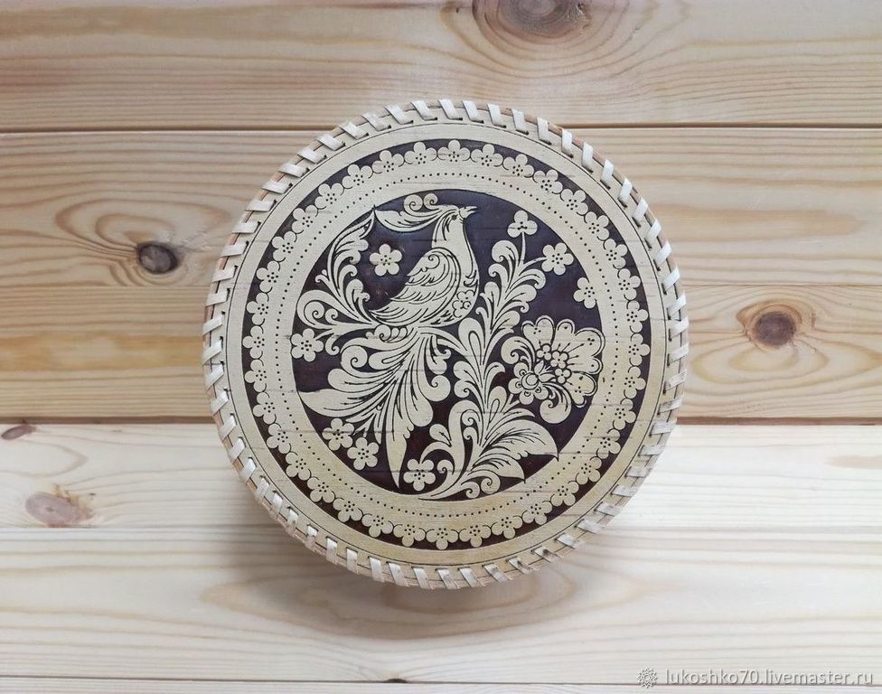 Trinket Boxes handmade. Livemaster - handmade. Buy Box of birch bark big ' Firebird». Jewelry storage box.