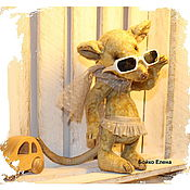 Куклы и игрушки ручной работы. Ярмарка Мастеров - ручная работа Крысуля Ламбада. Handmade.