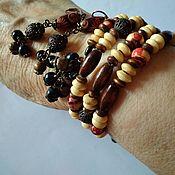 Украшения handmade. Livemaster - original item bracelet and earrings. Tree. Eco - kit. Easy and elegant. Handmade.