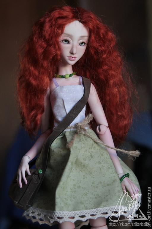Коллекционные куклы ручной работы. Ярмарка Мастеров - ручная работа. Купить Шарнирная кукла Майя (BJD). Handmade. Рыжий, кукла