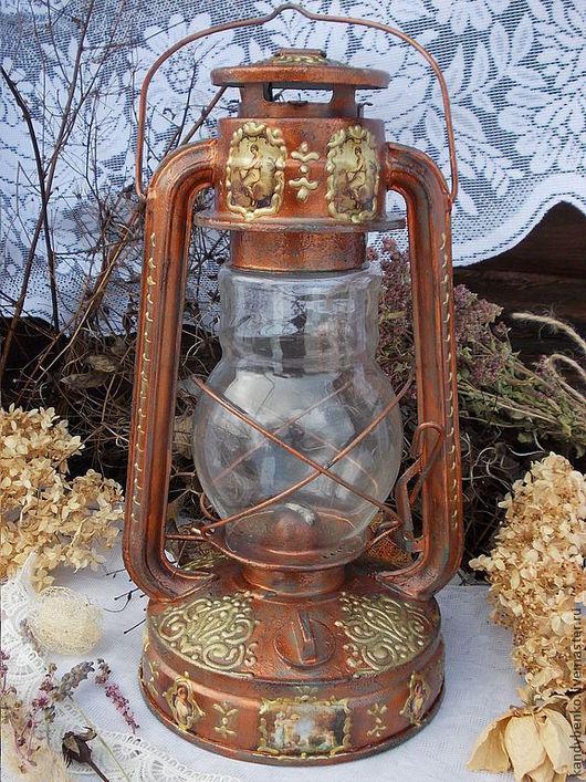 """Освещение ручной работы. Ярмарка Мастеров - ручная работа. Купить Керосиновая лампа """"History"""". Handmade. Керосиновая лампа, Распечатки"""