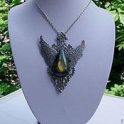Украшения handmade. Livemaster - original item Empress Labradorite Pendant. Handmade.