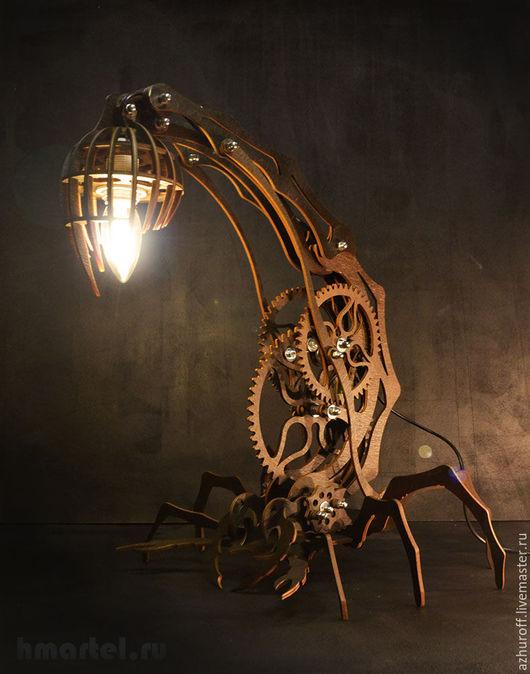 Лампа-скорпион