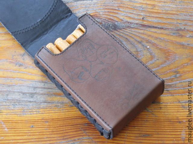 Портсигар-Сигаретница. Классическая пачка. Джон Леннон