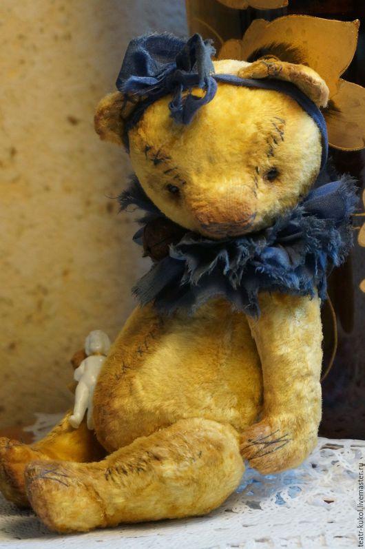 Мишки Тедди ручной работы. Ярмарка Мастеров - ручная работа. Купить Marusja. Handmade. Желтый, плюш