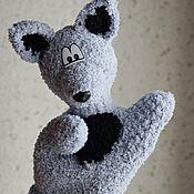 Куклы и игрушки handmade. Livemaster - original item Puppet theatre: Wolf glove. Handmade.