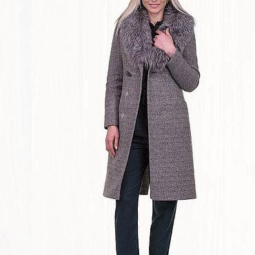 Одежда ручной работы. Ярмарка Мастеров - ручная работа Женское пальто зимнее 26П. Handmade.