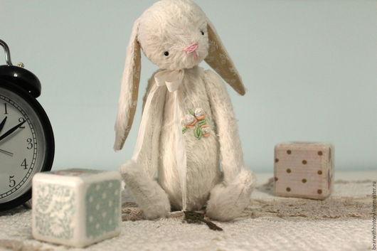 Мишки Тедди ручной работы. Ярмарка Мастеров - ручная работа. Купить Белый кролик. Handmade. Белый, белый кролик, заяц