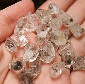 Minerals handmade. Livemaster - original item 10 PCs - Herkimers diamond - quartz crystals dvuhhodovki. Handmade.