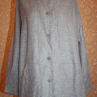 Винтаж ручной работы. Ярмарка Мастеров - ручная работа Блузка-Пиджак  52 размер. Handmade.