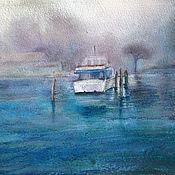 Картины и панно handmade. Livemaster - original item painting watercolor. Venetian lagoon. Handmade.