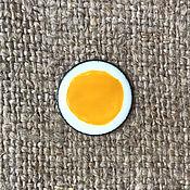 Материалы для творчества handmade. Livemaster - original item Overglaze paint SHINCERAMIC No. №3245 Pumpkin yellow. Handmade.